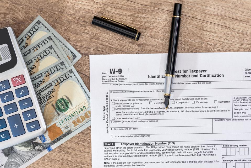 Ask The Taxgirl Should I Cancel A Form W 9
