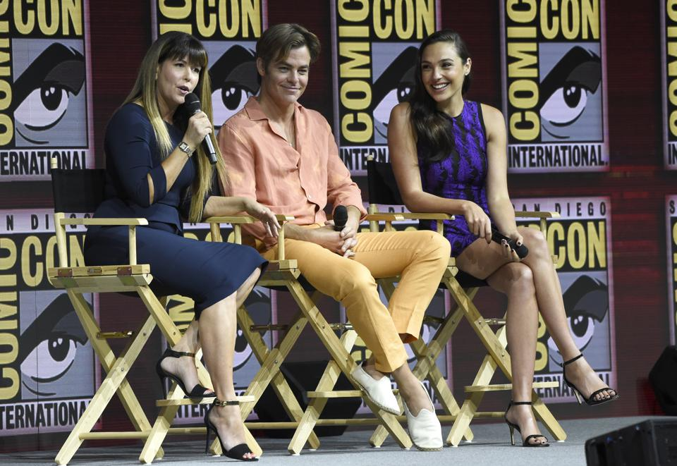 AT&T and WarnerMedia subsidiary DC Comics produces Wonder Woman, Batman and Superman.