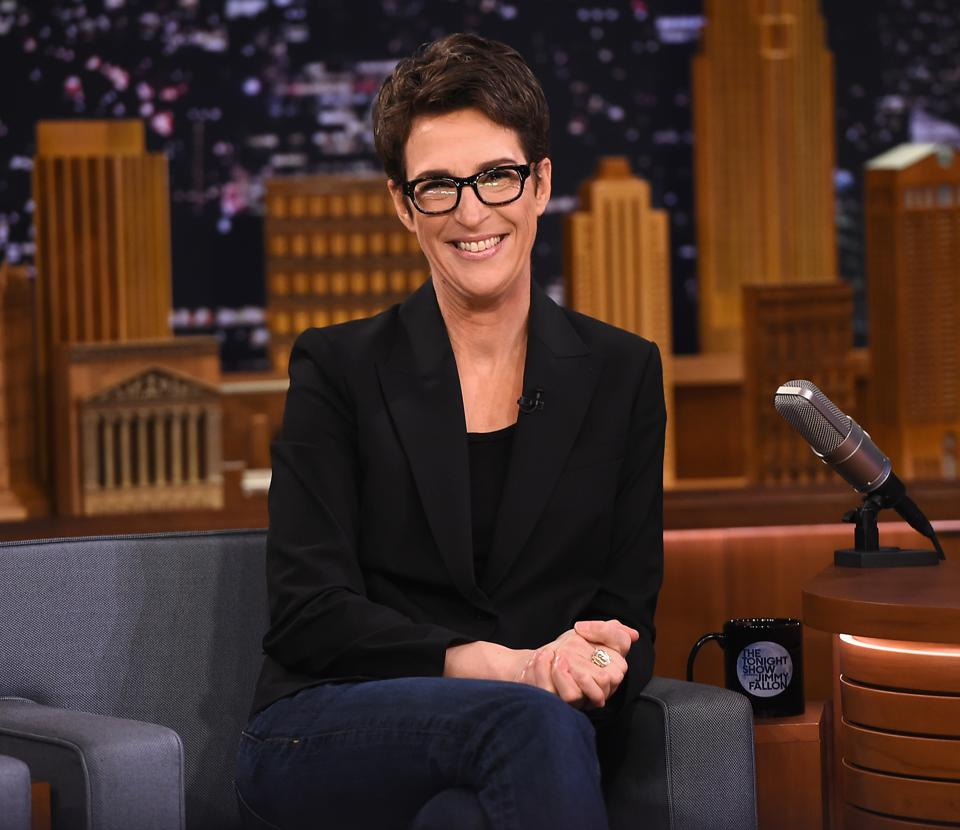 Rachel Maddow Ends August As No 1 In Cable News