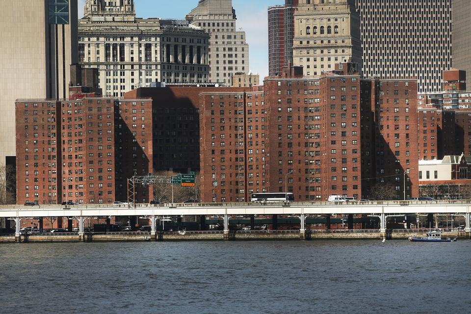 public housing buildings in New York