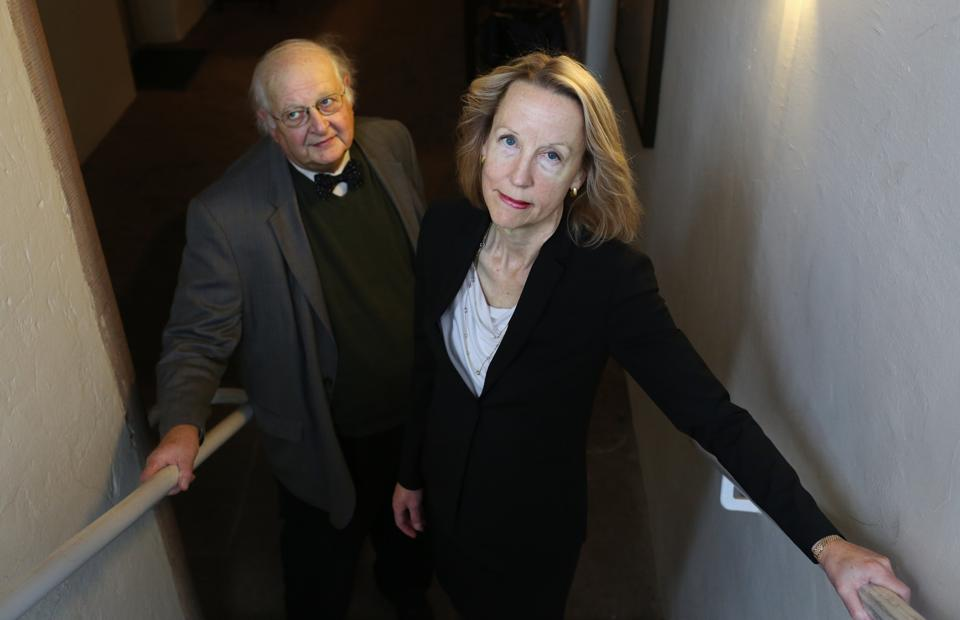 PRINCETON, NJ - MARCH 31: Married couple Dr. Anne Case, Profess