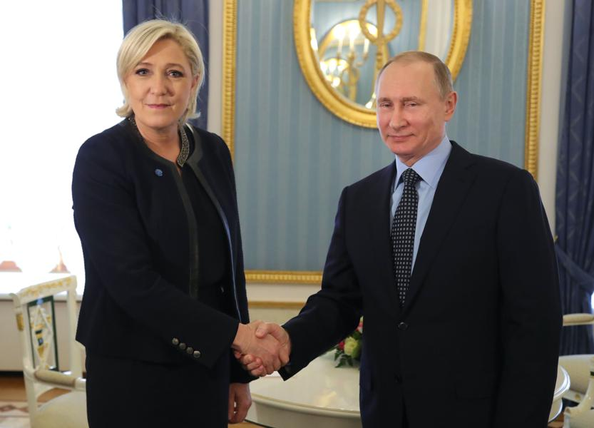 Russia's Hack Of Elections In France Requires Counterpunch