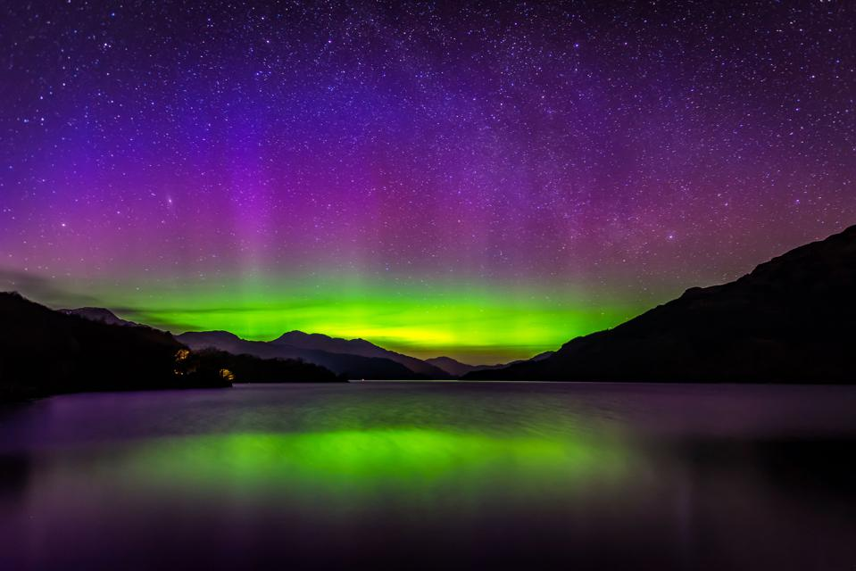 Here S Where To Look For The Northern Lights In The U S On