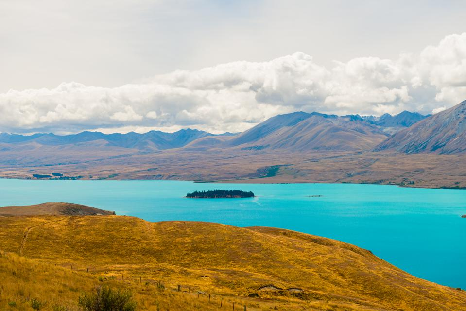 Beautiful Lake Tekapo, NewZealand