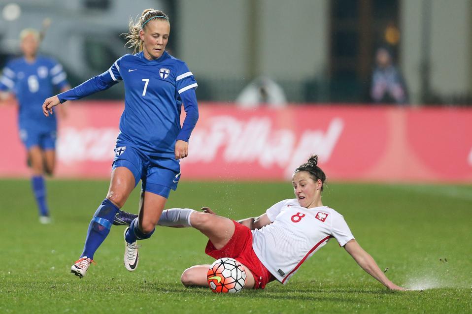 Poland v Finland - Women's football friendly match