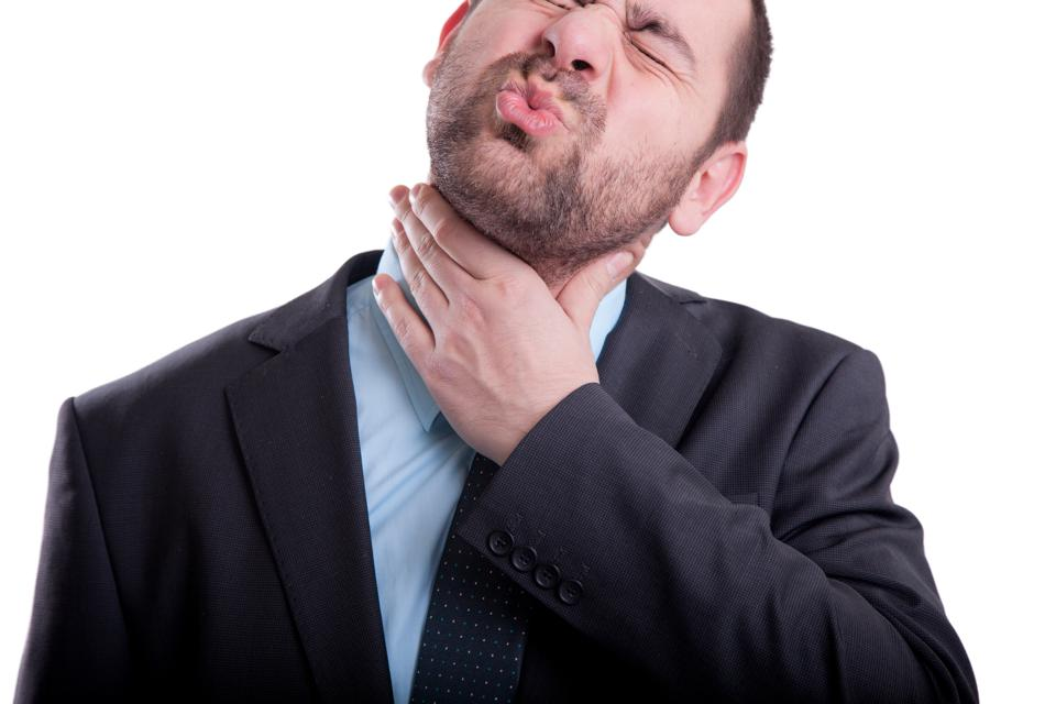sex from oral Sore throat