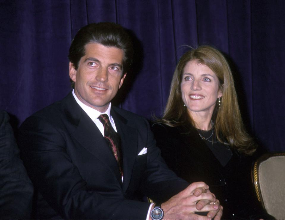John F. Kennedy, Jr. And Sister At New York Event
