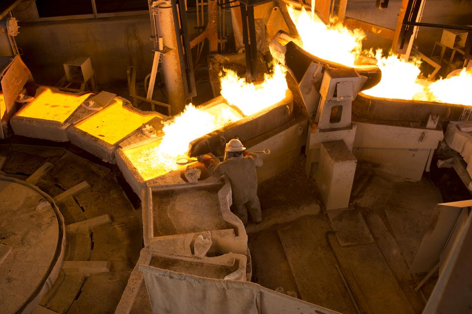 Copper mining in Zambia