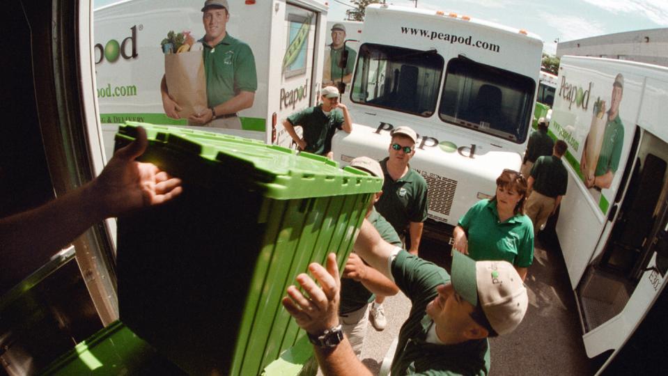 Peapod Caravan Delivers