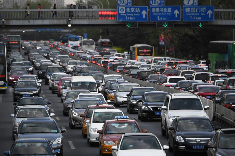 To Promote Electric Cars China Considers Move To Ban Gas Guzzlers