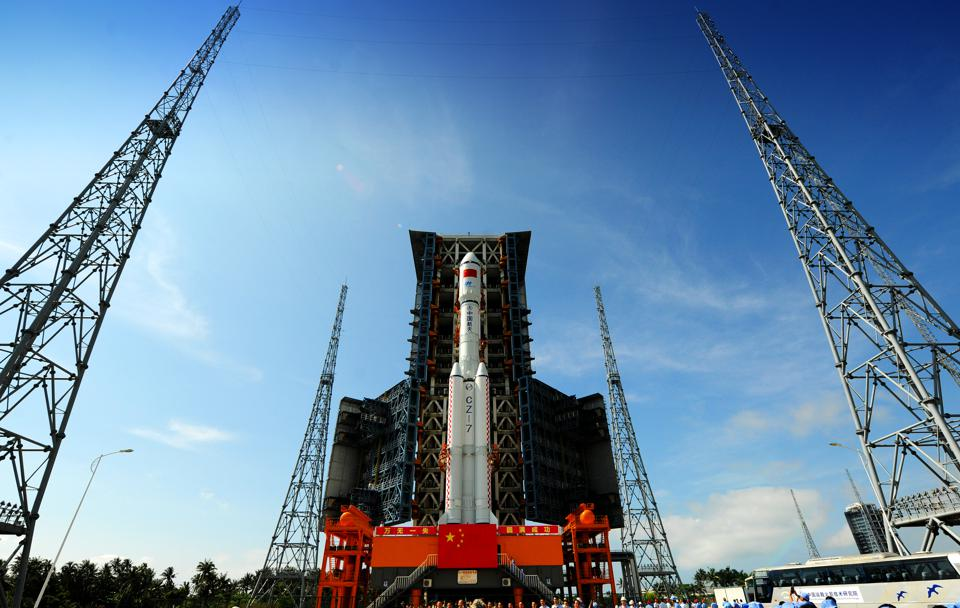 China To Launch Its First Cargo Spacecraft Tianzhou-1