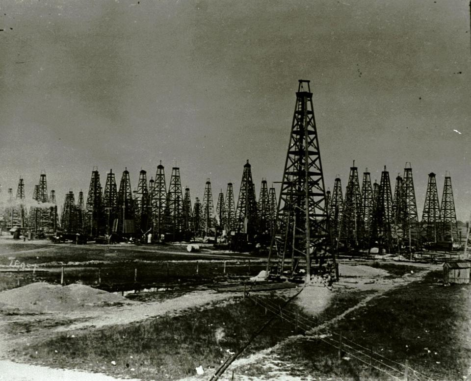 Spindletop Oil Well Centennial