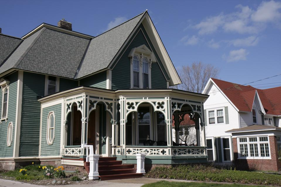 The Architectural Element Essential To A Painted Lady
