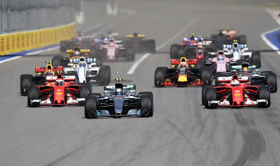 F1 could still face a roadblock even if it manages to swerve around the coronavirus (ALEXANDER NEMENOV/AFP via Getty Images)
