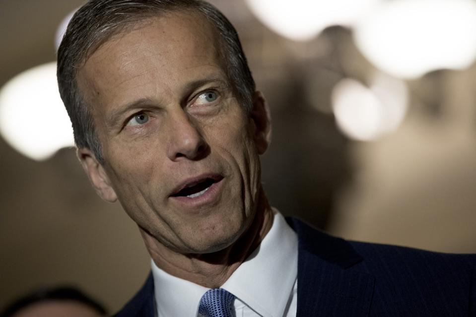Senator John Thune has indicated that a second stimulus check would provide more support to Americans than a payroll tax cut as Congress debates the next coronavirus stimulus package