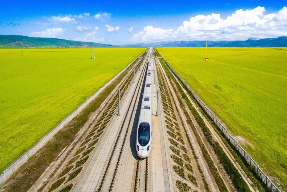 Trains will go even faster in the future.