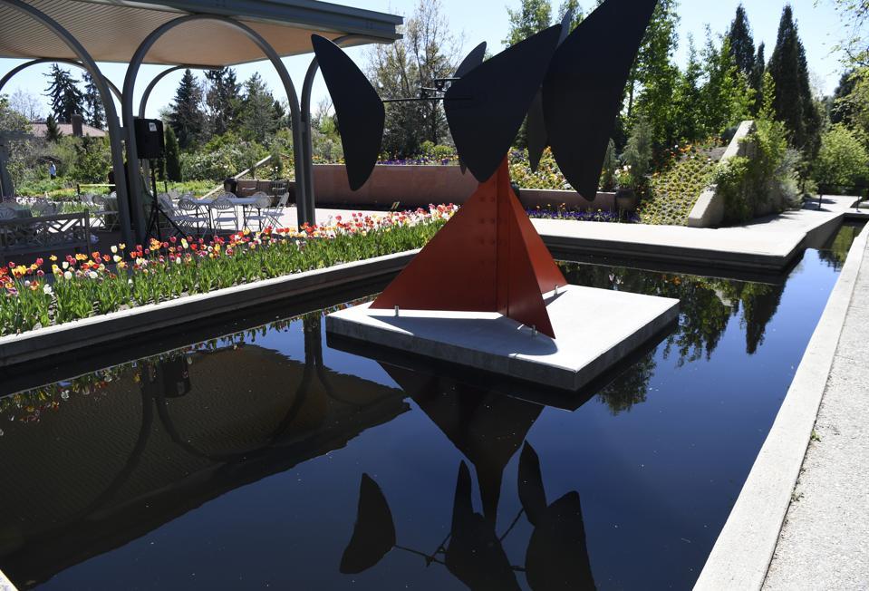 Alexander Calder Sculpture Exhibit