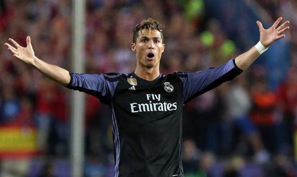 Ronaldo, LeBron Top The World's Highest-Paid Athletes Of 2017