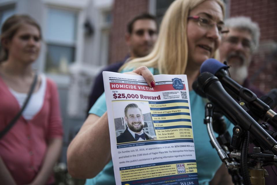 Seth Rich's family seeks justice and end to conspiracy theories.