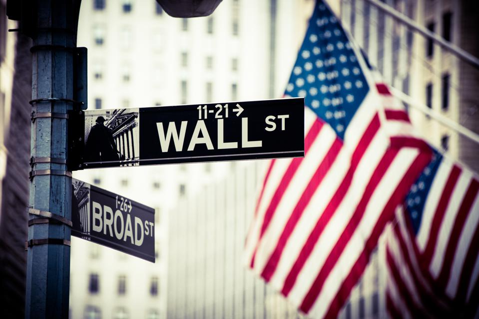 Wall Street and Broad Street Signs