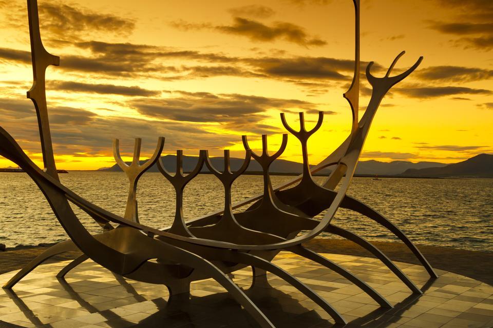 The Sun Voyager is a sculpture by Jón Gunnar Árnason, located in Reykjavík, Iceland
