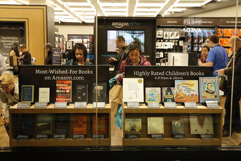 What Amazon's New Bookstore Can Teach Struggling Retailers