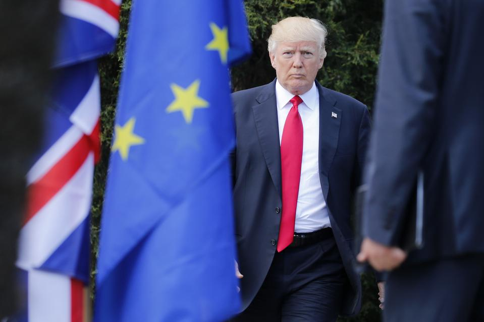 Only 4% Of Europeans Trust Donald Trump