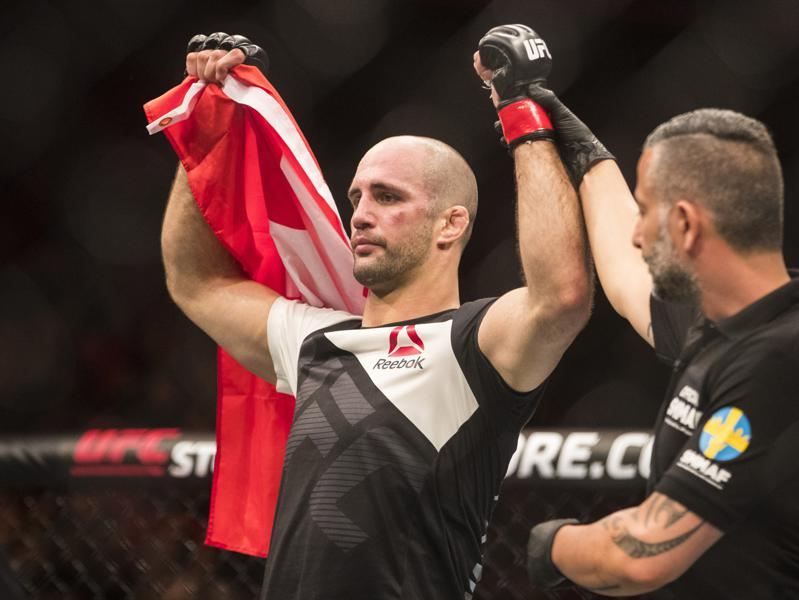 UFC Title Contender Volkan Oezdemir Arrested For Aggravated Battery (Updated)