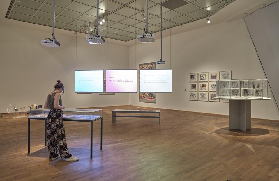 'Carolee Schneemann. Kinetische Malerei' Exhibition Preview In Frankfurt Am Main