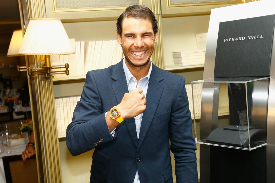 Gala Dinner For the Launch Of The New Richard Mille RM 27-03 Rafael Nadal