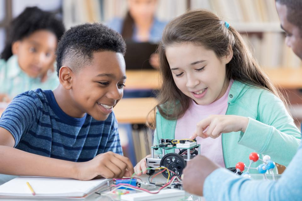 In the U.S., there simply aren't enough people pursuing STEM to meet growing technology demands.