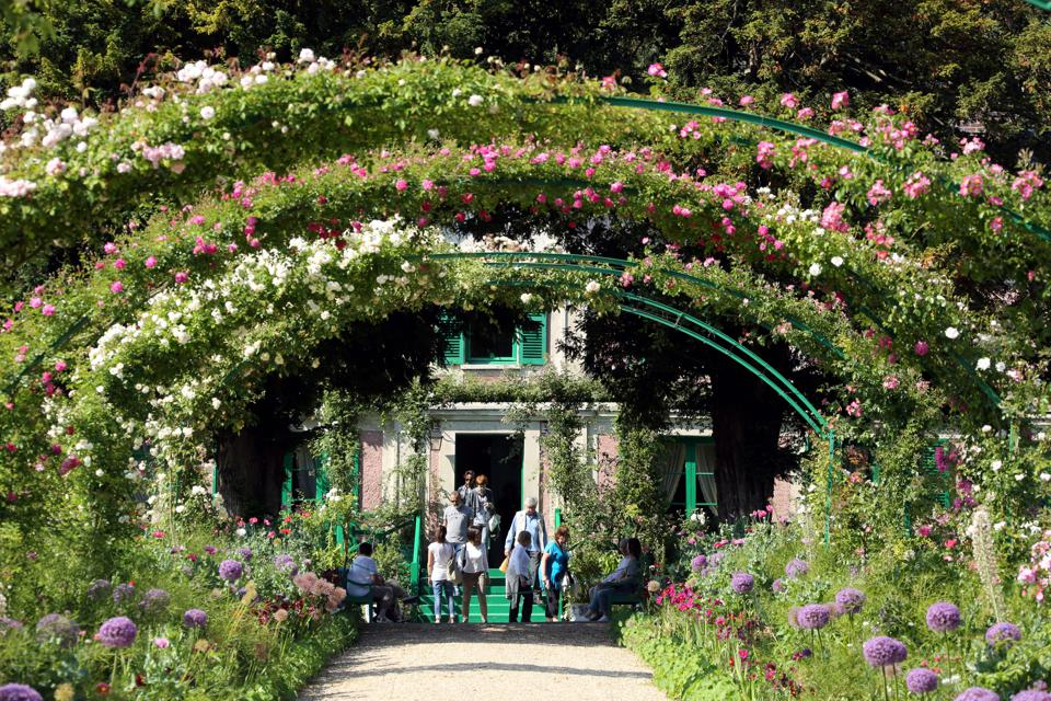 Giverny, Claude Monet's home until his death in 1926