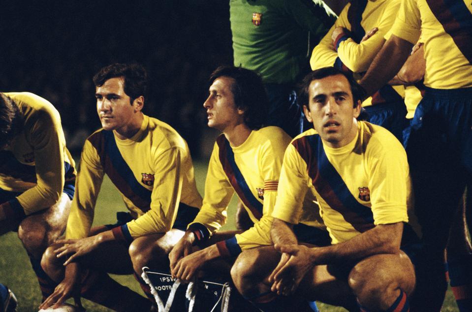 Johan Cruyff and Barcelona silenced the Bernabeu in 1974 with a resounding 0-5 win