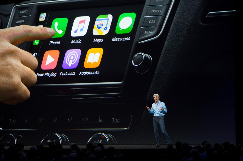 CarPlay in action. Will CarKey be a part of it soon?