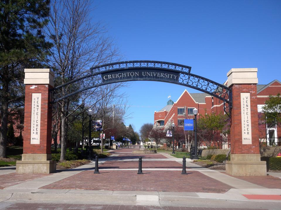 Creighton University Gate