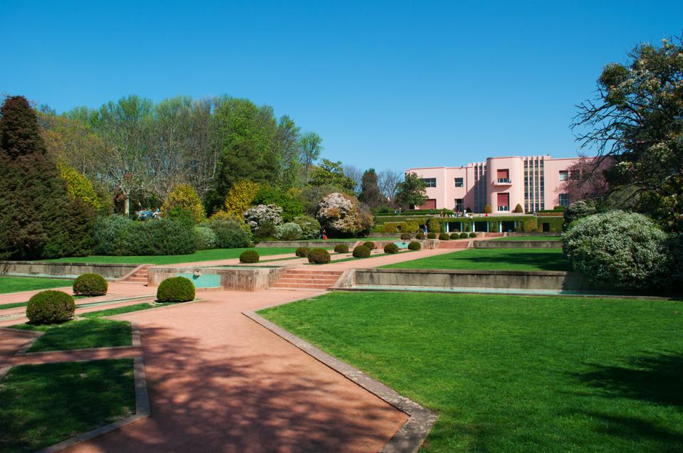 The Serralves Foundation, one of the most important cultural institution of Portugal with its contemporary art Museum, example of contemporary architecture, Modernism and Art Deco