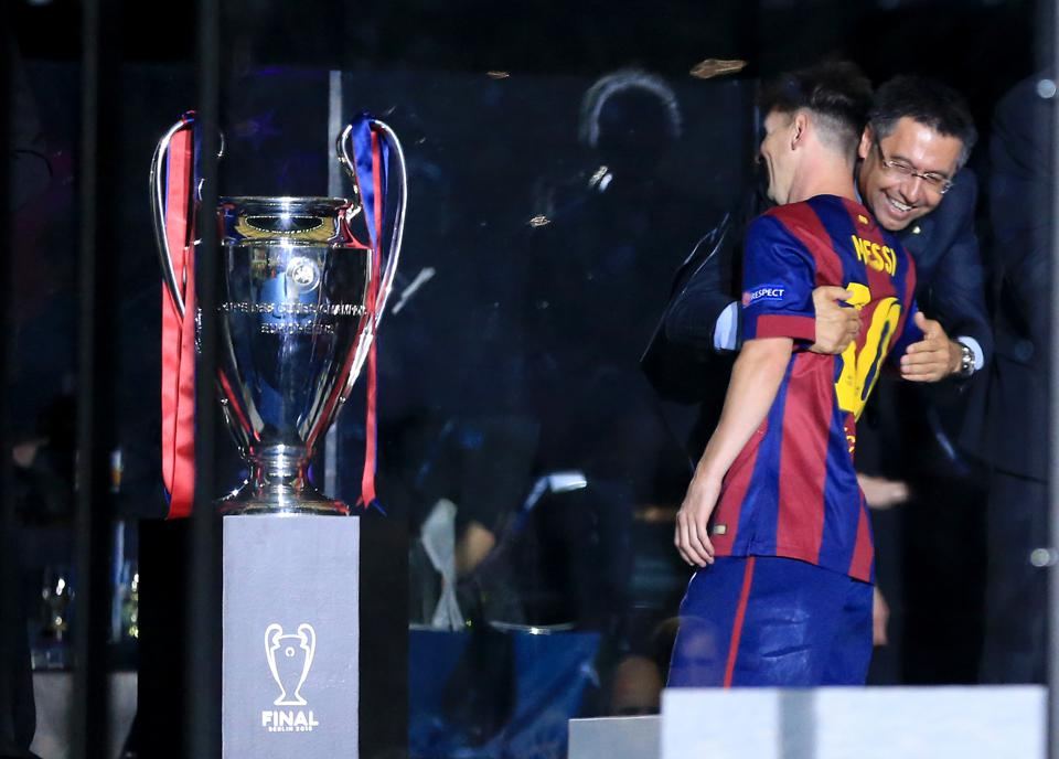 Lionel Messi has had a rocky relationship with Josep Bartomeu as of late.