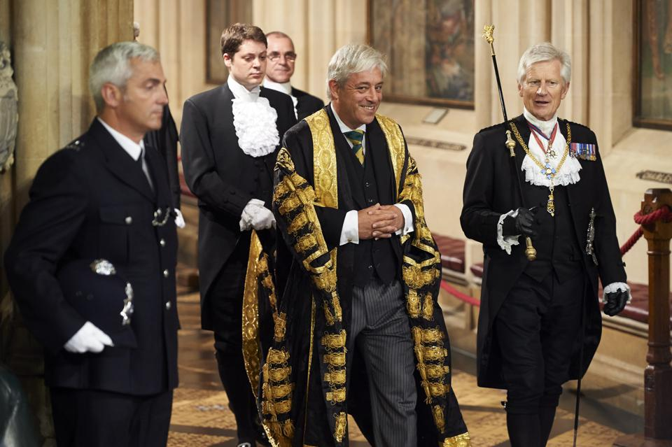 John Bercow's Advice To His Post-Brexit Successor