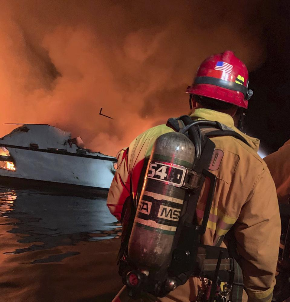 Santa Cruz Island Boat Fire: Coast Guard Confirms 33 People