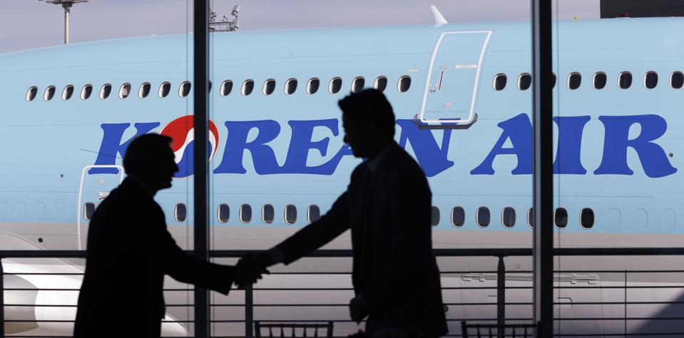 Boeing Korean Air Delivery