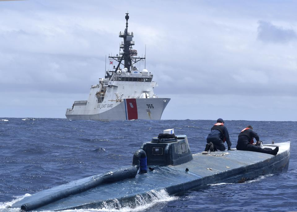 The Coast Guard is set to do far more than just illegal drug interdiction.