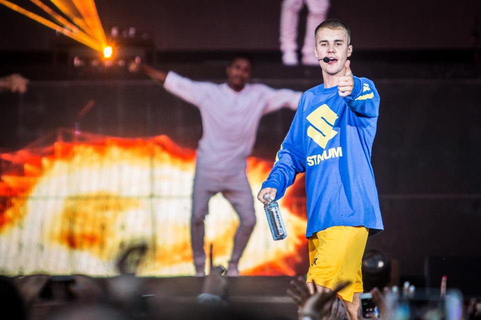 Justin Bieber in concert