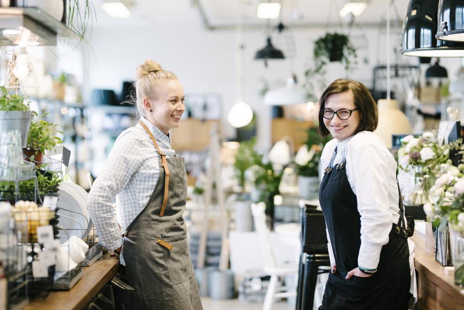 Tallinn Estonia happy workers