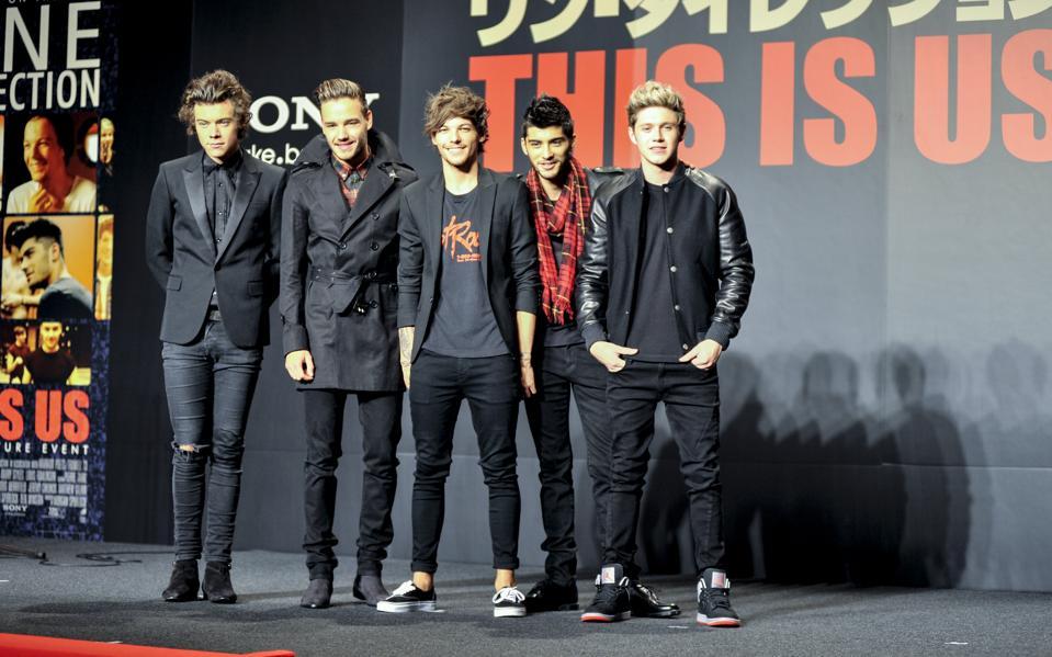 No. 18: One Direction ($42 million, tie)