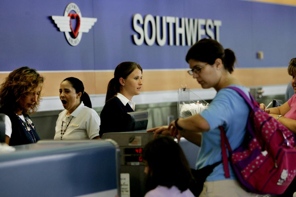 Southwest Airlines Begins Experiment With Assigned Seating