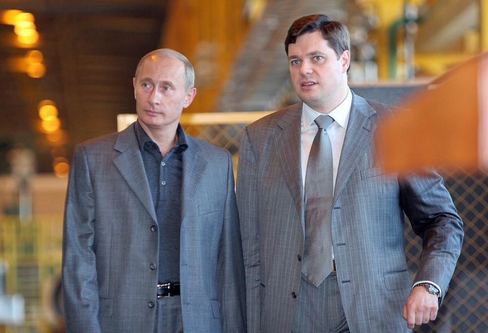 Russian President Vladimir Putin and Sev