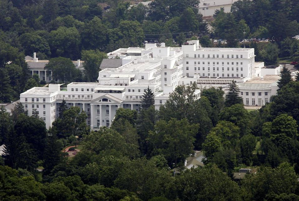 Greenbrier Resort in White Sulphur Springs, West Virginia housed a Cold War government bunker.