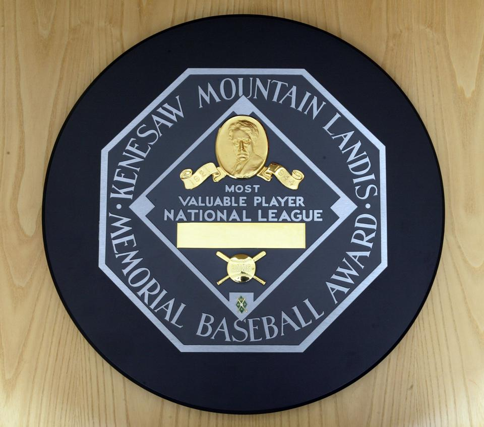 MLB Award Trophies and Plaques