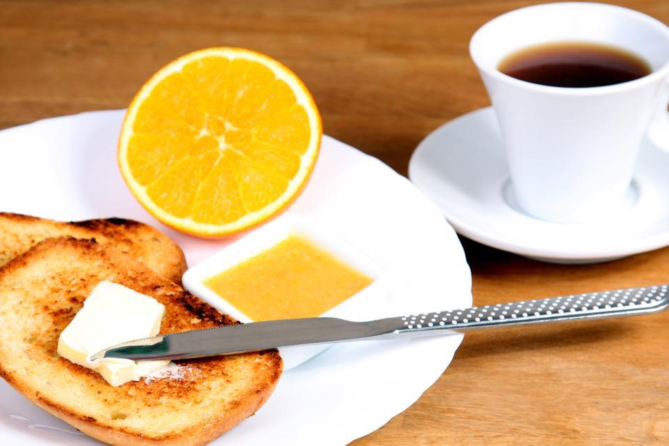 Skipping breakfast hardens