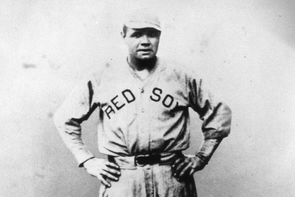 Babe Ruth Red Sox FF Portrait